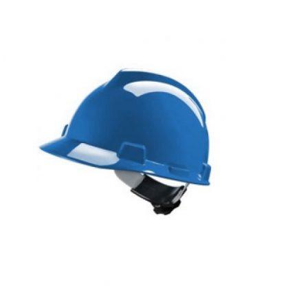 Blue V-Guard Helmet