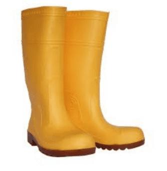 Yellow Safety Rain Boot