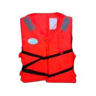 Orange Colored Life Jacket