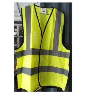 Lemon Colored Reflective Jacket